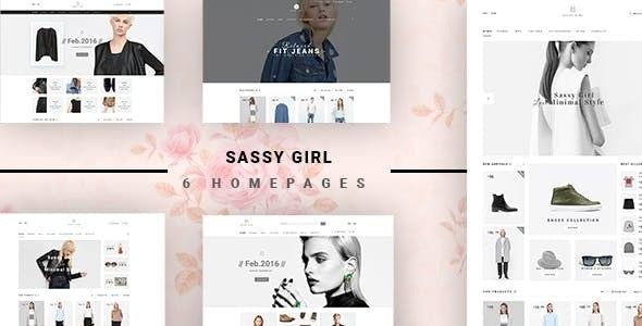 Sassy Girl - Women Online Shop Theme for Magento 2 - Fashion Magento