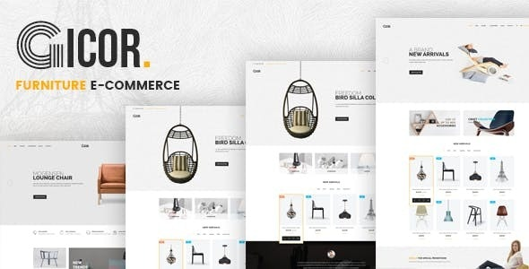 Gicor - Furniture Responsive Magento 2 Theme by Plaza-Themes