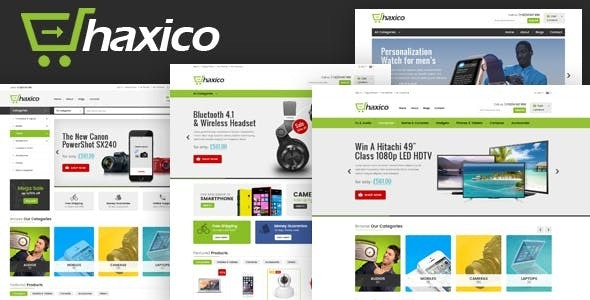 Haxico - Technology Responsive Prestashop Theme - Technology PrestaShop