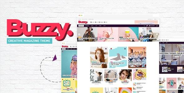 Buzzy - Creative Magazine Theme - News / Editorial Blog / Magazine