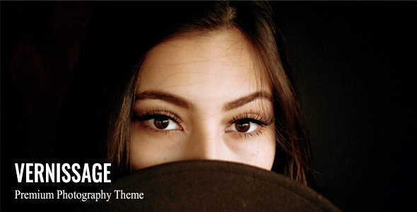 Vernissage - Photography WordPress Theme - Photography Creative