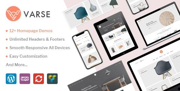 Varse - WooCommerce AJAX WordPress Theme - WooCommerce eCommerce