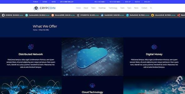 Crypcoin - Bitcoin, ICO Trading PSD