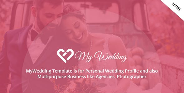 Download MyWedding - Responsive Wedding One Page Template