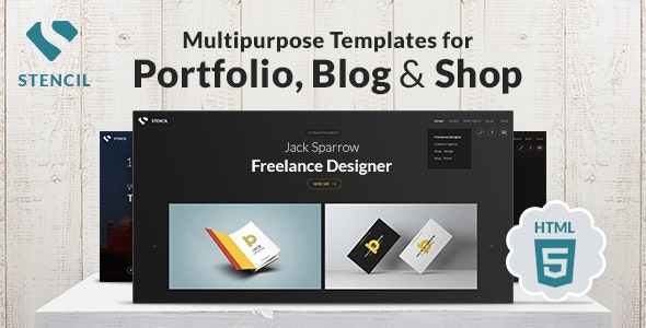 Stencil - Creative Multi-Purpose HTML Theme - Creative Site Templates