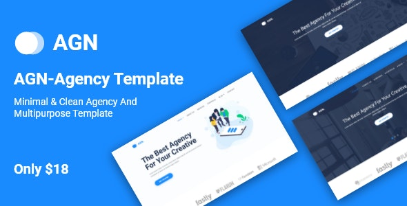 AGN-Agency Template - Portfolio Creative
