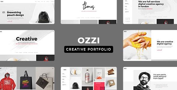 OZZI - Creative Portfolio PSD Template - Portfolio Creative