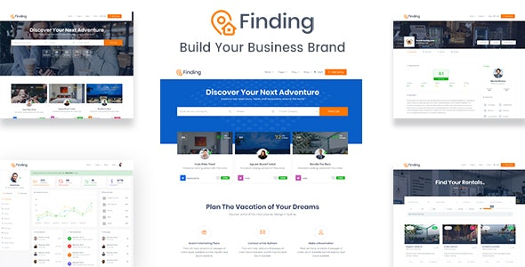 Finding - Directory & Listings HTML Template - Business Corporate