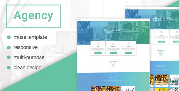 Agency - Multipurpose Muse Template - Creative Muse Templates