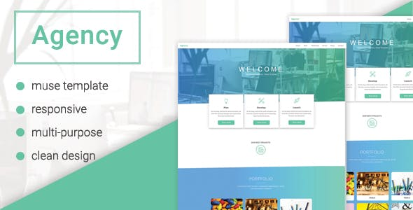 Download Agency - Multipurpose Muse Template