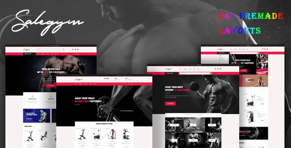 Bos Gymgear - PrestaShop Sport Theme for Fitness & Equipment - PrestaShop eCommerce