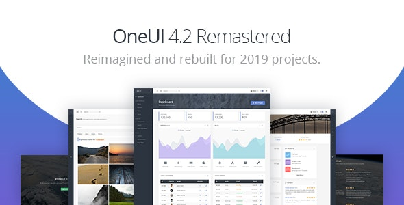 OneUI - Bootstrap 4 Admin Dashboard Template & Laravel Starter Kit - Admin Templates Site Templates