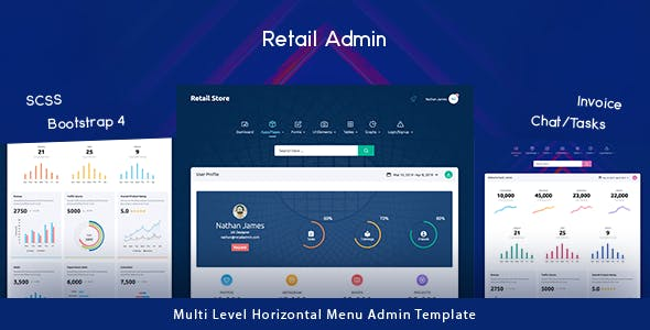 Retail Store - Next Generation Bootstrap 4 Admin Template