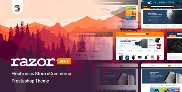 Razor Responsive Prestashop 1.7 Theme - Technology PrestaShop