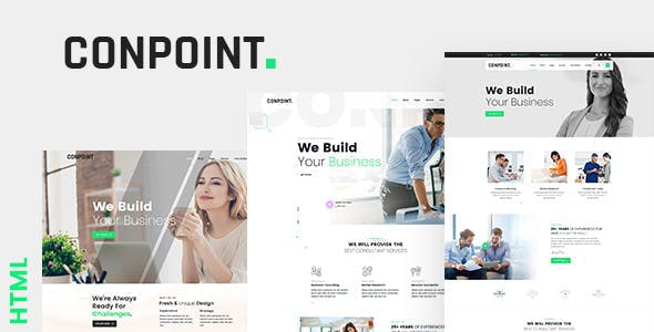 Conpoint - Business And Corporate HTML Template