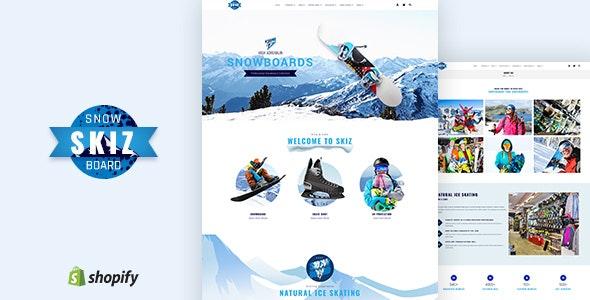 Skiz | Sports, Ski Boards Shopify Theme - Shopify eCommerce
