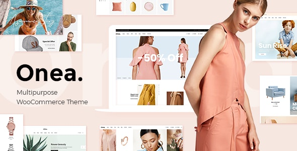 Onea - Elegant Fashion Shop - WooCommerce eCommerce
