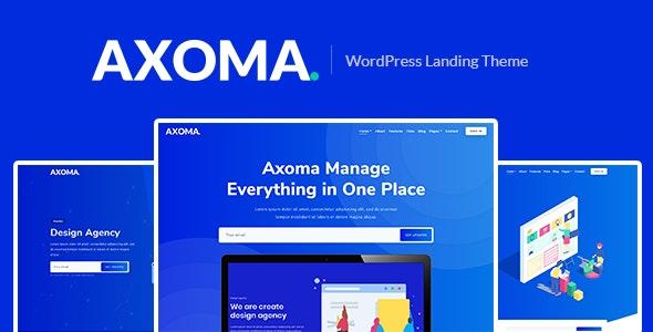 Axoma – WordPress SaaS Theme - Technology WordPress