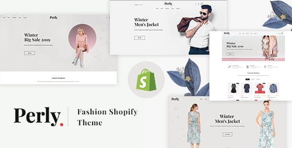 Fashion Shopify Theme - Perly