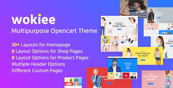 Wokiee - Premium OpenCart Theme