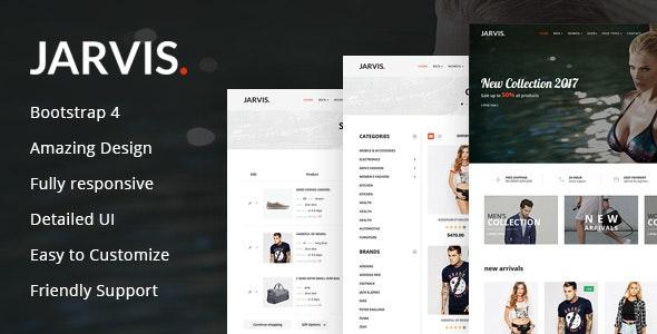 Jarvis - Multipurpose eCommerce HTML Template - Retail Site Templates