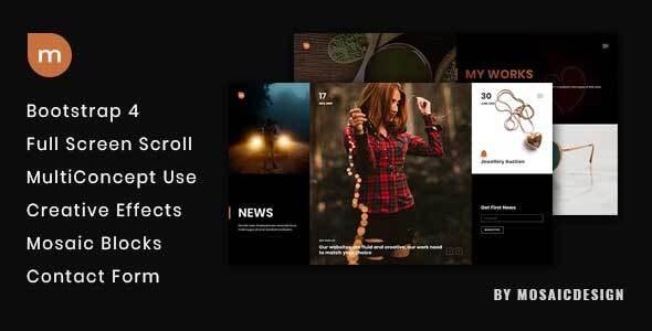 mSite - Creative Template - Portfolio Creative