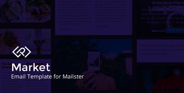 Market Email Template For Mailster