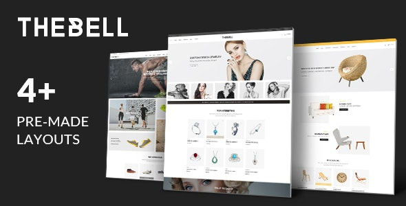 Thebell - Multipurpose Responsive WordPress Theme - WooCommerce eCommerce