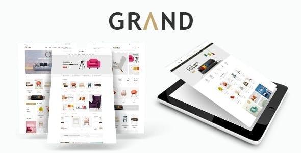 Grand - Responsive Furniture WooCommerce WordPress Theme - WooCommerce eCommerce