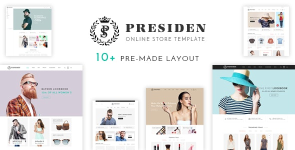 Presiden - Multi Kinds Store Responsive WordPress Theme - WooCommerce eCommerce