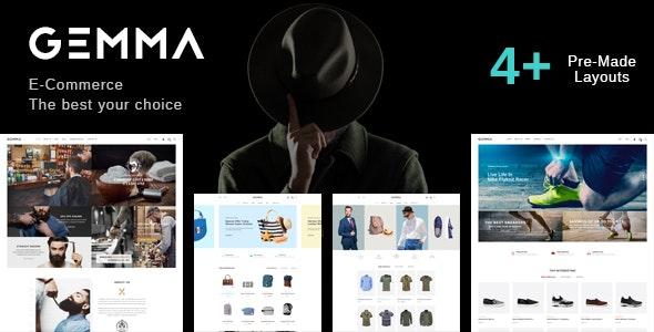 Gemma - Multipurpose WooCommerce WordPress Theme - WooCommerce eCommerce