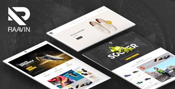 Raavin - Responsive WooCommerce WordPress Sport Shoes Theme - WooCommerce eCommerce