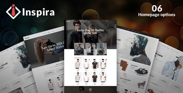 Inspira - Multipurpose Responsive WooCommerce WordPress Theme - WooCommerce eCommerce