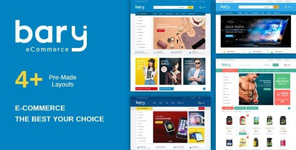 Bary - Multipurpose Responsive Fashion WooCommerce WordPress Theme - WooCommerce eCommerce
