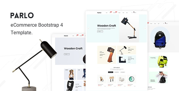 Parlo – Fashion, Furniture Store HTML Template - Fashion Retail