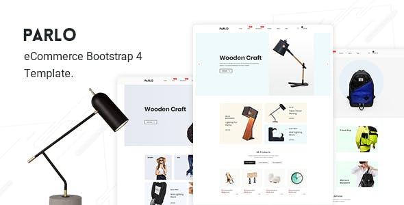 Parlo – Fashion, Furniture Store HTML Template