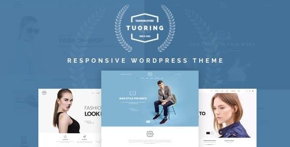 Tuoring - Fashion Theme for WooCommerce WordPress - WooCommerce eCommerce