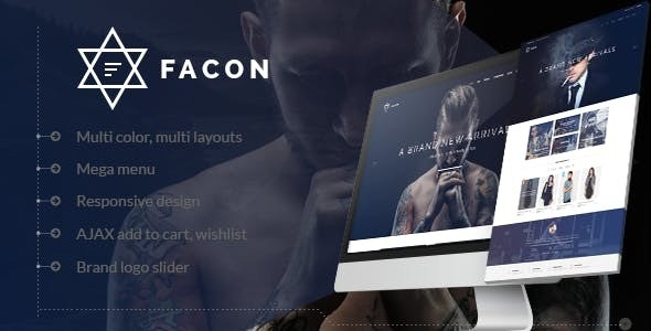 Facon - Fashion Responsive WordPress Theme - WooCommerce eCommerce