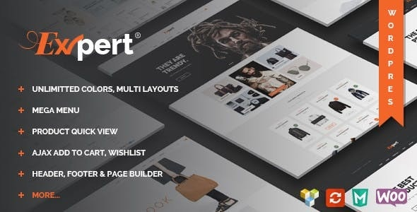 Expert - Clean eCommerce WordPress Theme - WooCommerce eCommerce