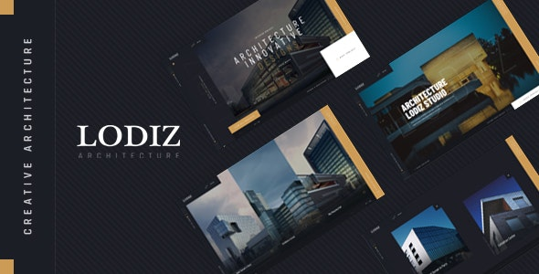 Lodiz - Creative Architecture PSD Template - Creative Photoshop