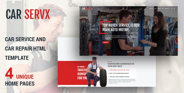 Carservx - Car Service  and Car Repair - Business Corporate