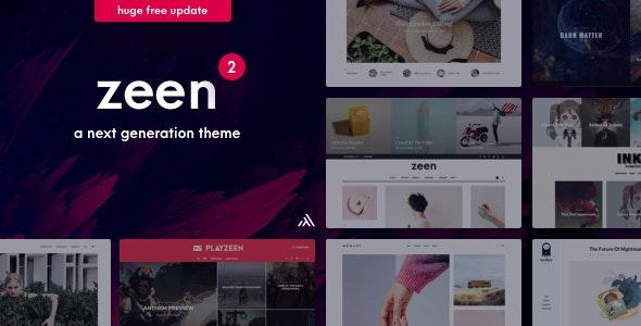 Zeen | Next Generation Magazine WordPress Theme by codetipi