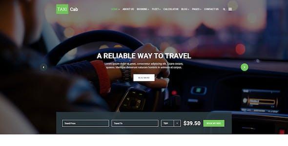 TAXI Cab PSD Template
