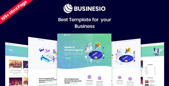 Businesio - One Page Parallax - Business Corporate