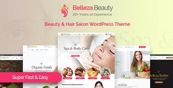 Belleza - Beauty & Hair Salon WordPress Theme - Health & Beauty Retail