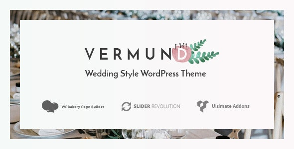 Vermund - Elegant Wedding WordPress Theme - Wedding WordPress