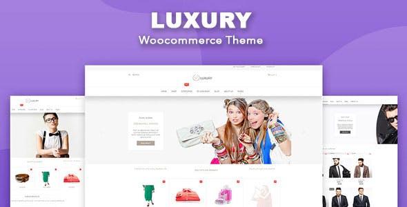 Luxury - WooCommerce WordPress Theme