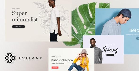 Eveland – Modern AJAX enabled WooCommerce theme (RTL Supported) - WooCommerce eCommerce