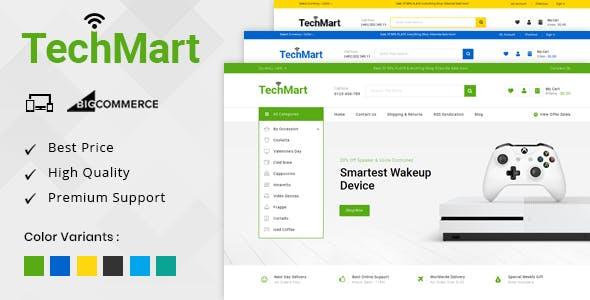 TechMart - Multipurpose Stencil BigCommerce Theme