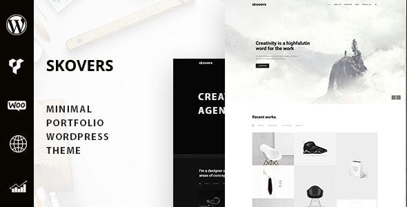 Skovers - Minimal Portfolio WordPress Theme - Portfolio Creative